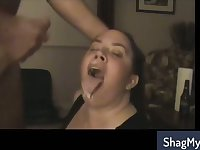 Cum in mouth bbw compilation