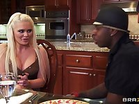 Big black cock makes slutty wife Alexis Ford scream with pleasure