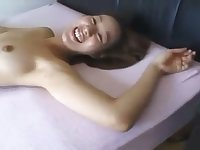 This Japanese nympho loves her rabbit vibrator and she is a cock hungry slut