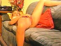 Amateur Blonde Slut Dildo Masturbation
